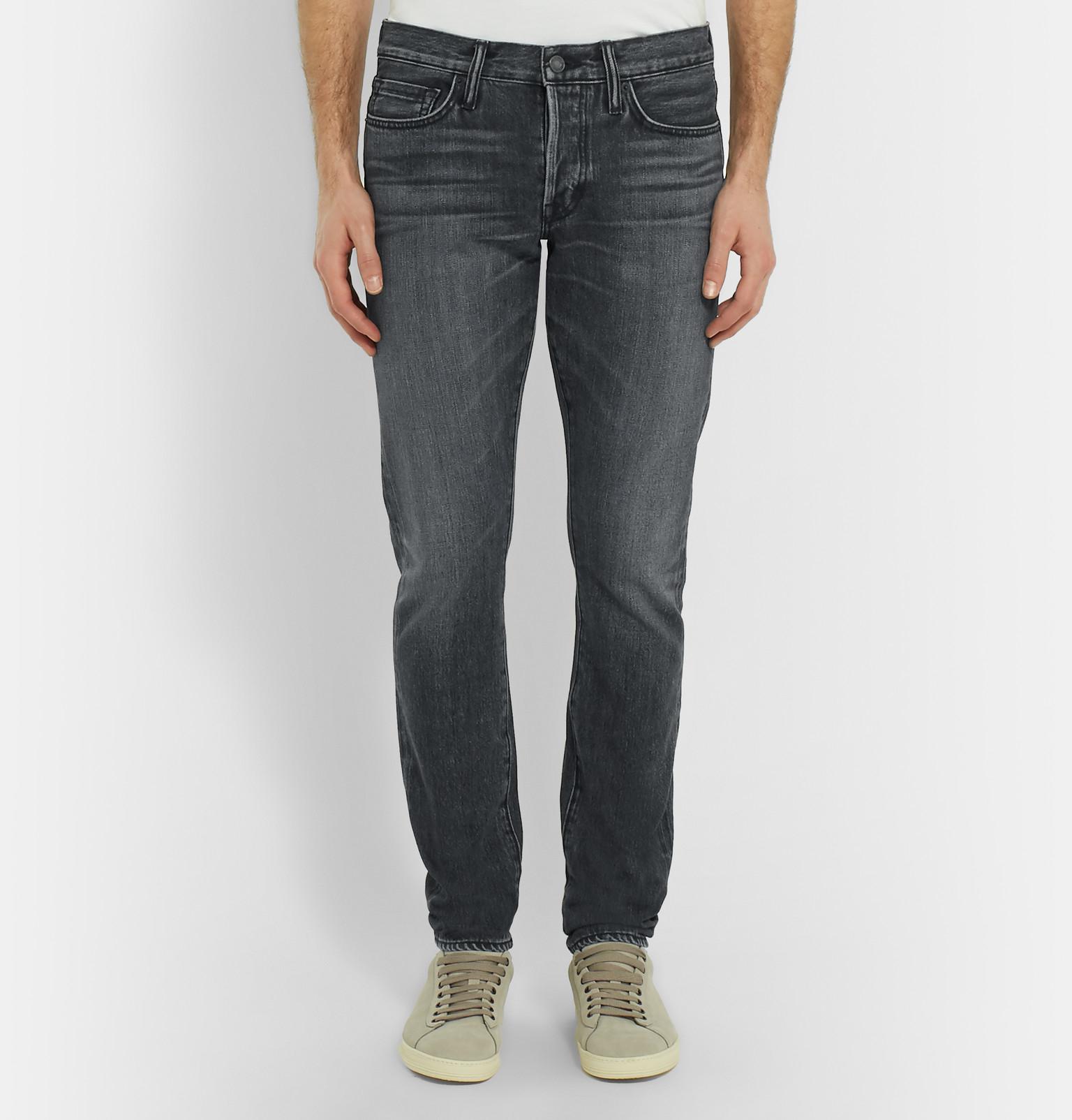 slim-fit jeans - Grey Tom Ford xDPkuBm