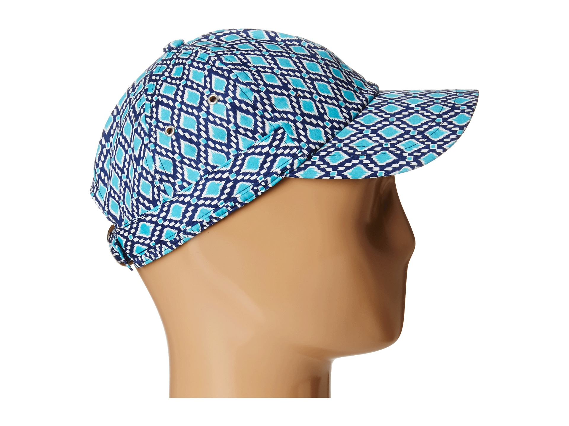 Lyst - Hat Attack Pattern Baseball Cap in Blue