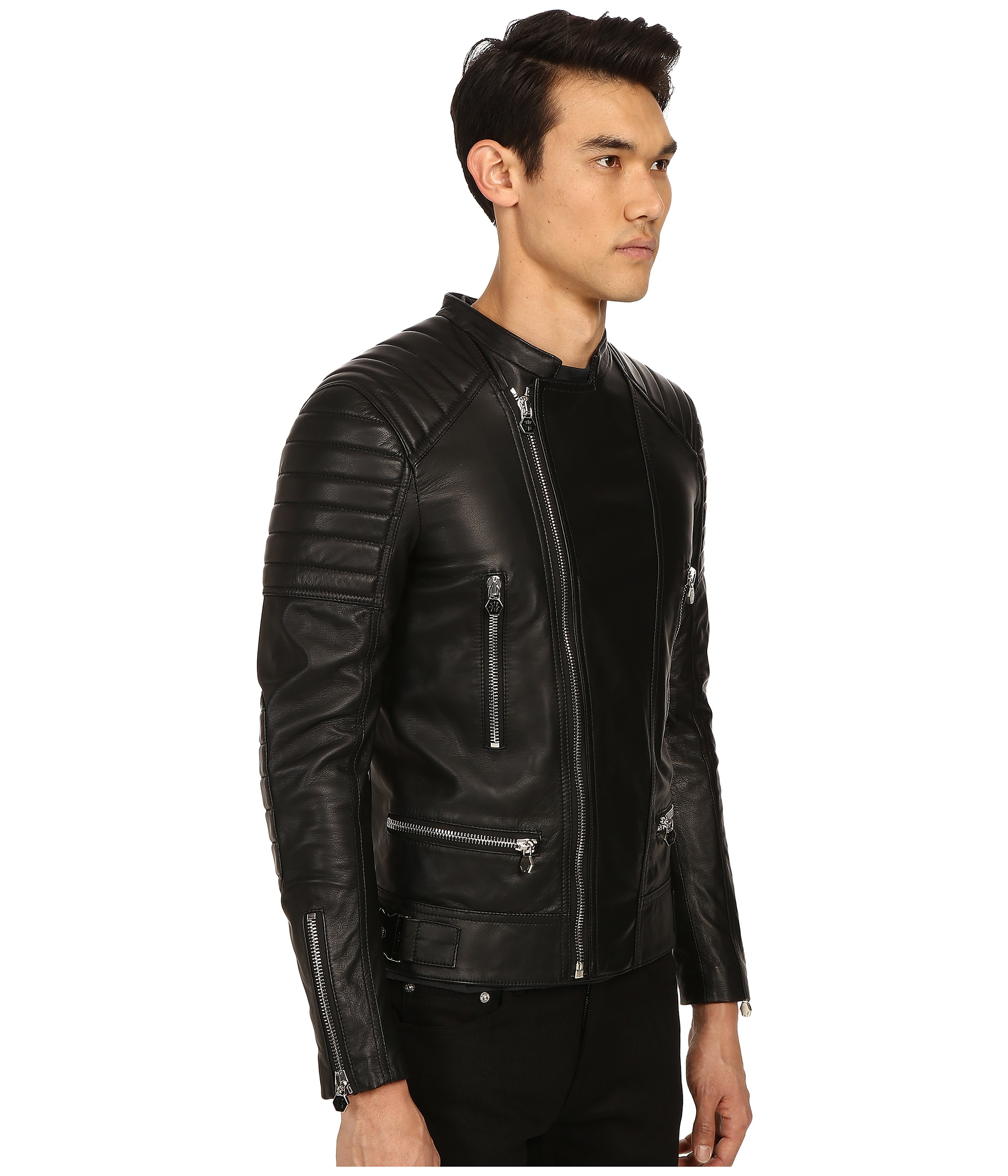 philipp plein leather