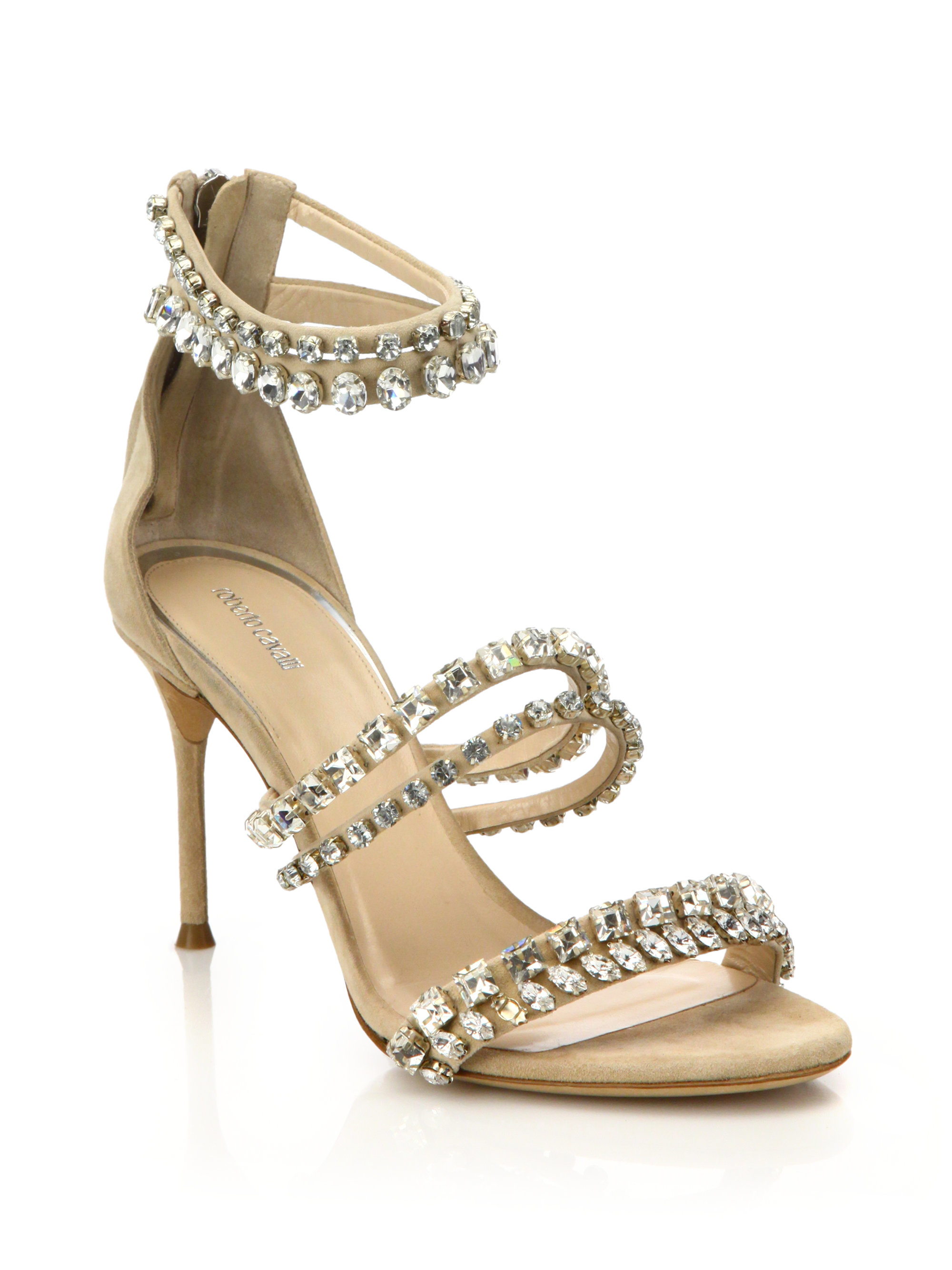 f52655d39 Shoes   Accessories Crystal-Embellished Sandals