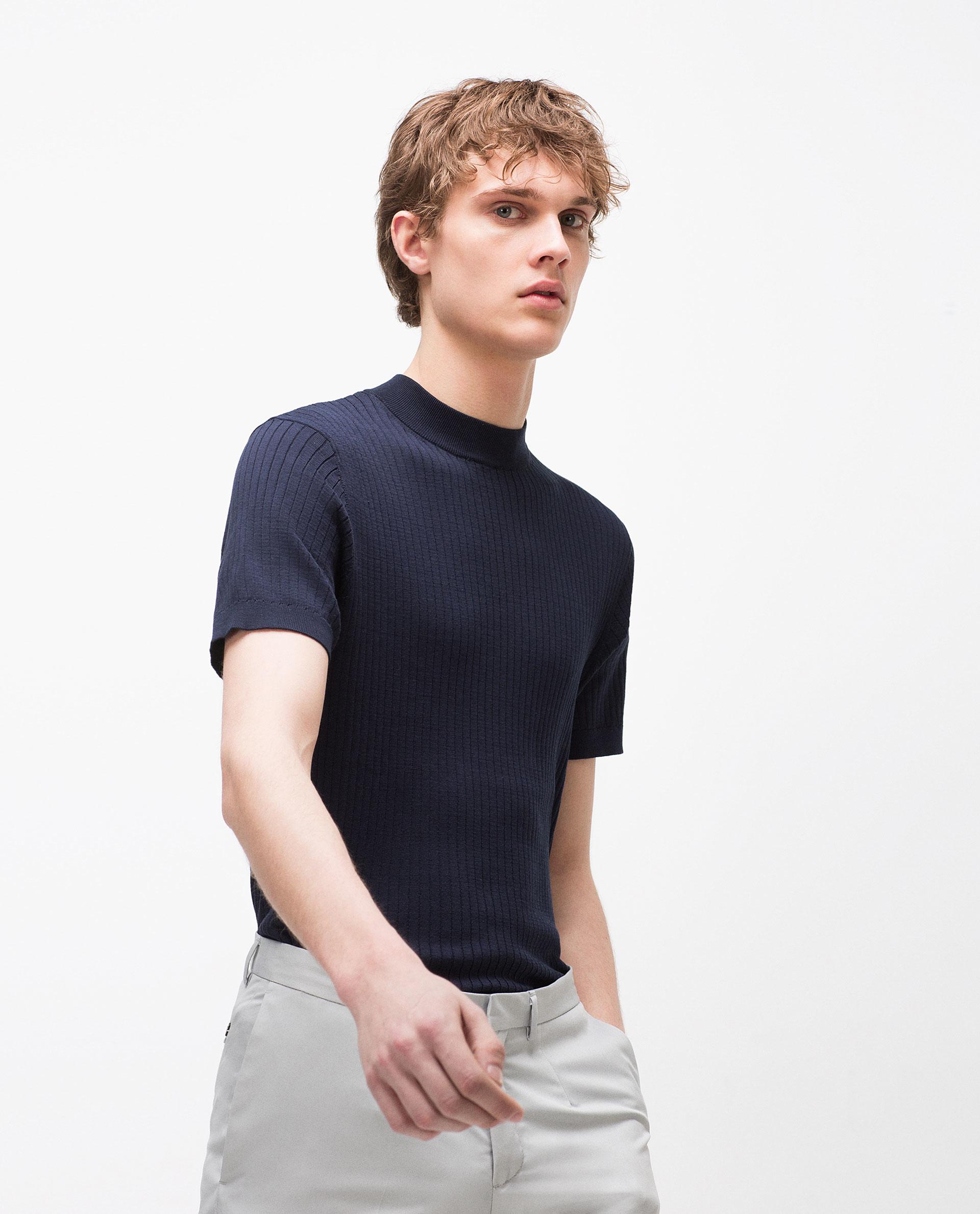 Zara Black High Neck Sweater 3