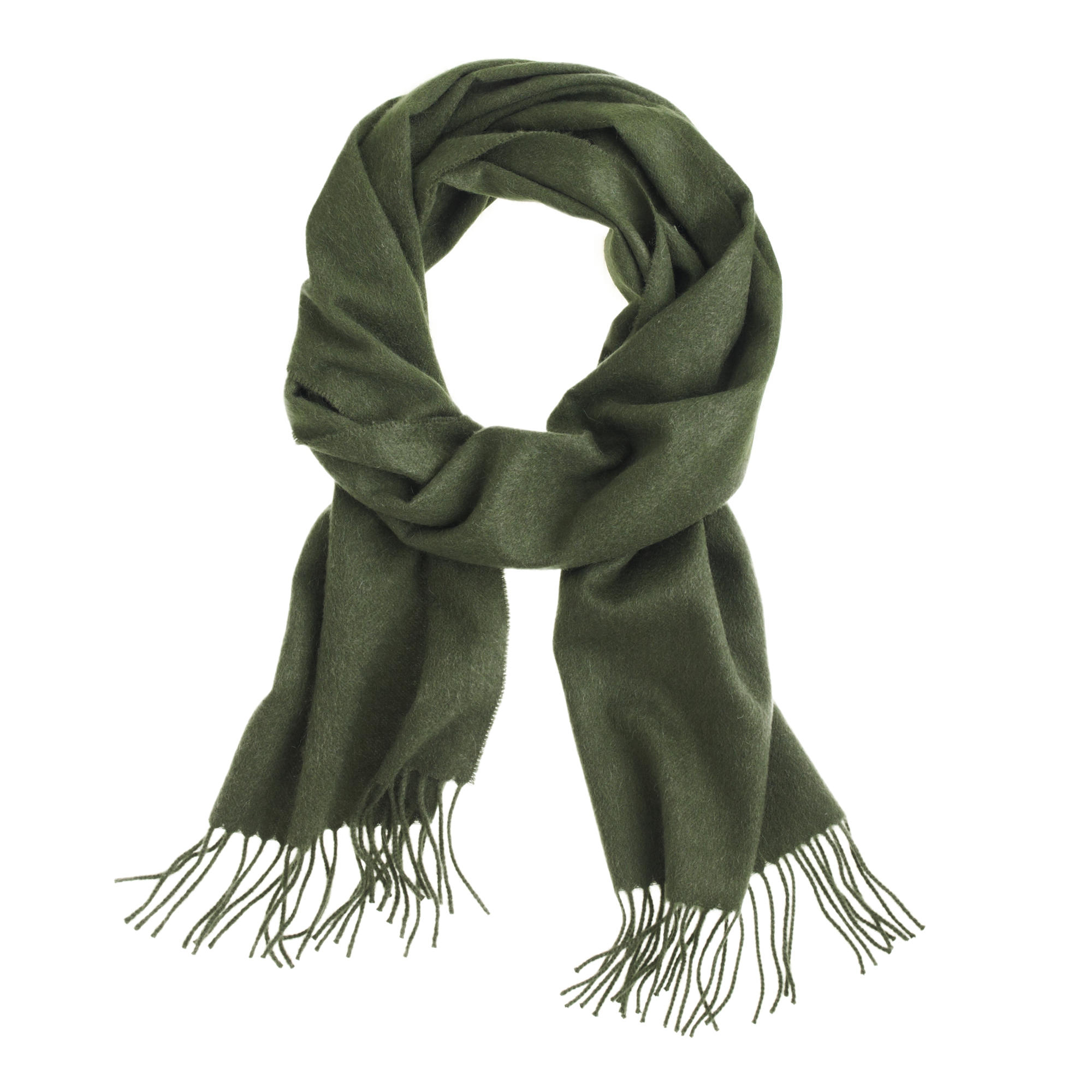 j crew scarf in green for lyst