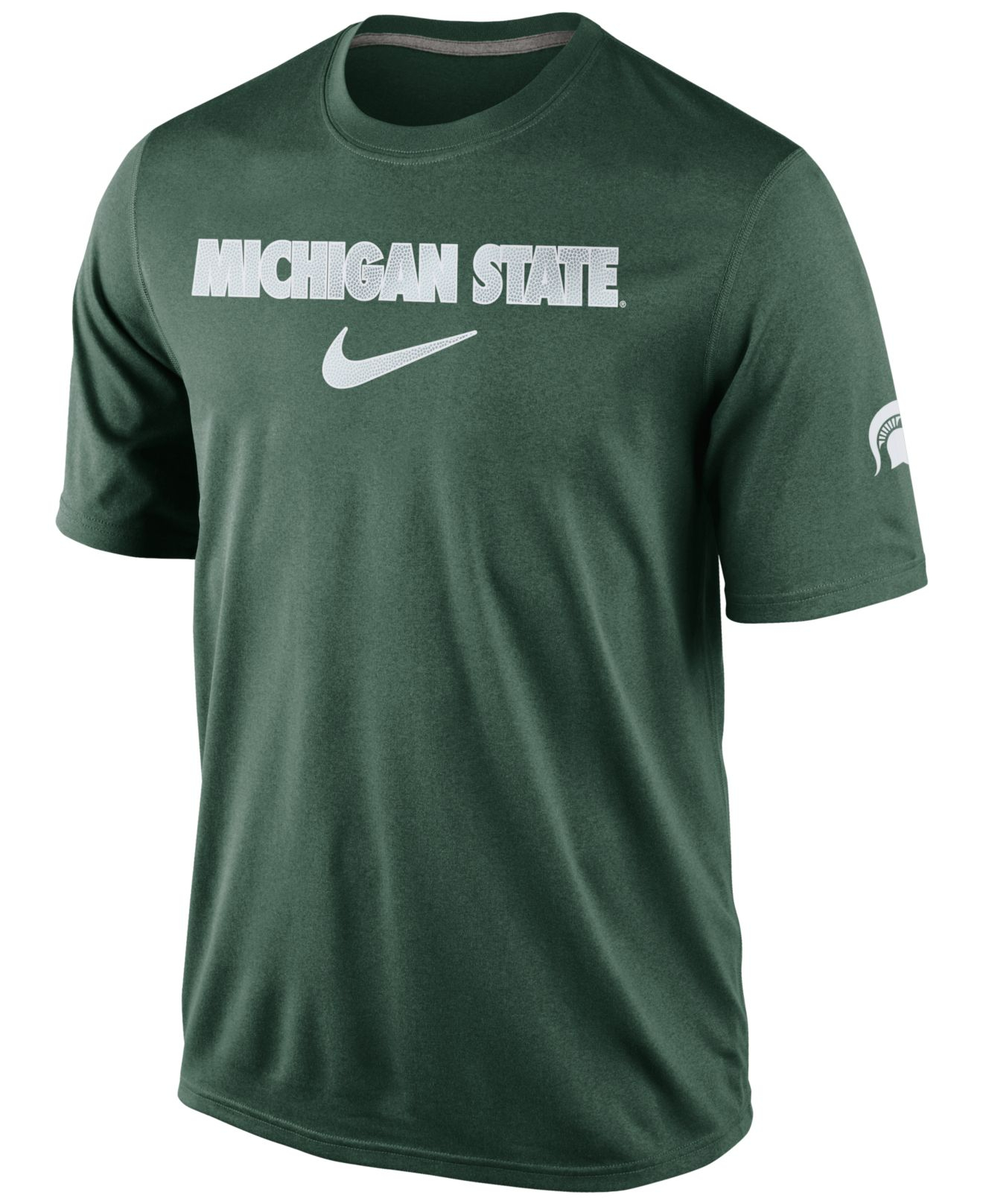 Lyst nike men 39 s michigan state spartans basketball fill for Michigan state spartans t shirts