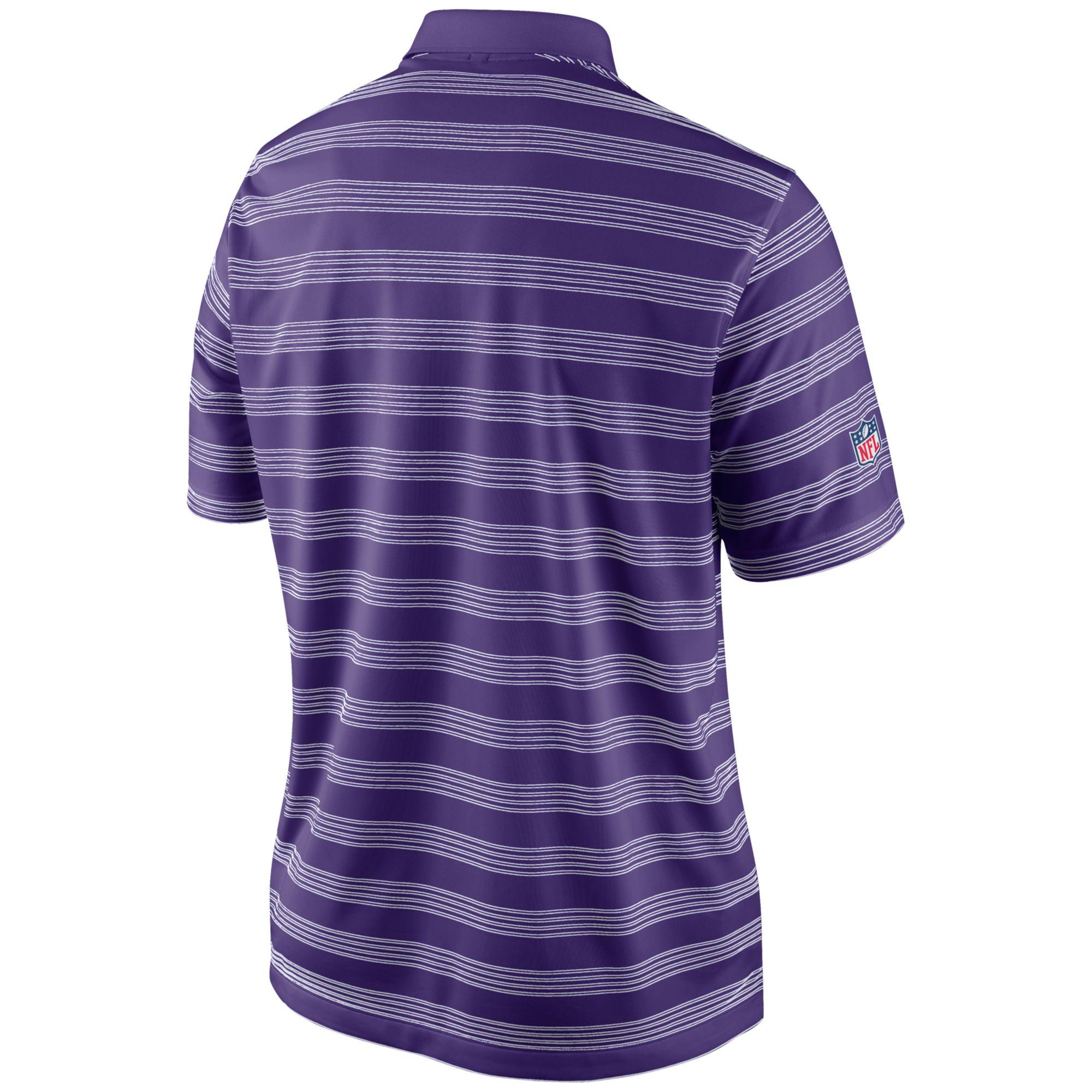 Lyst Nike Mens Minnesota Vikings Preseason Polo Shirt In Purple