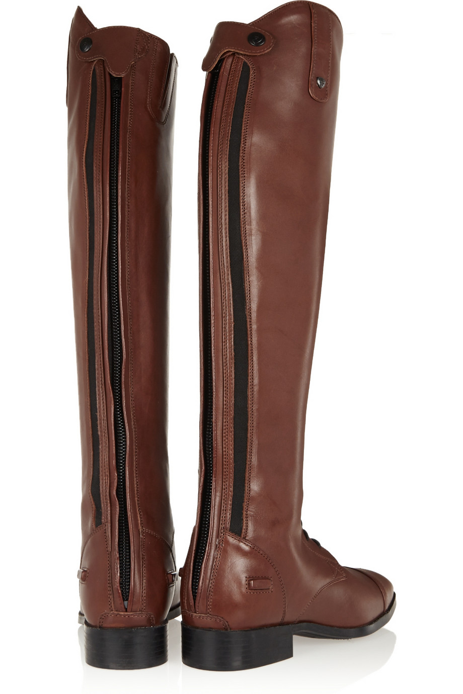 Ariat Challenge Contour Leather Slim-Fit Riding Boots in Brown | Lyst