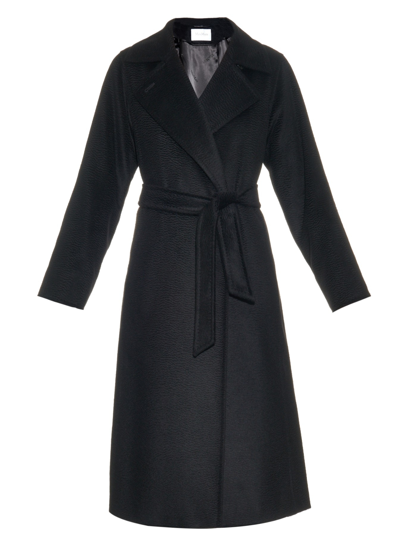 Max mara Manuela Coat in Black