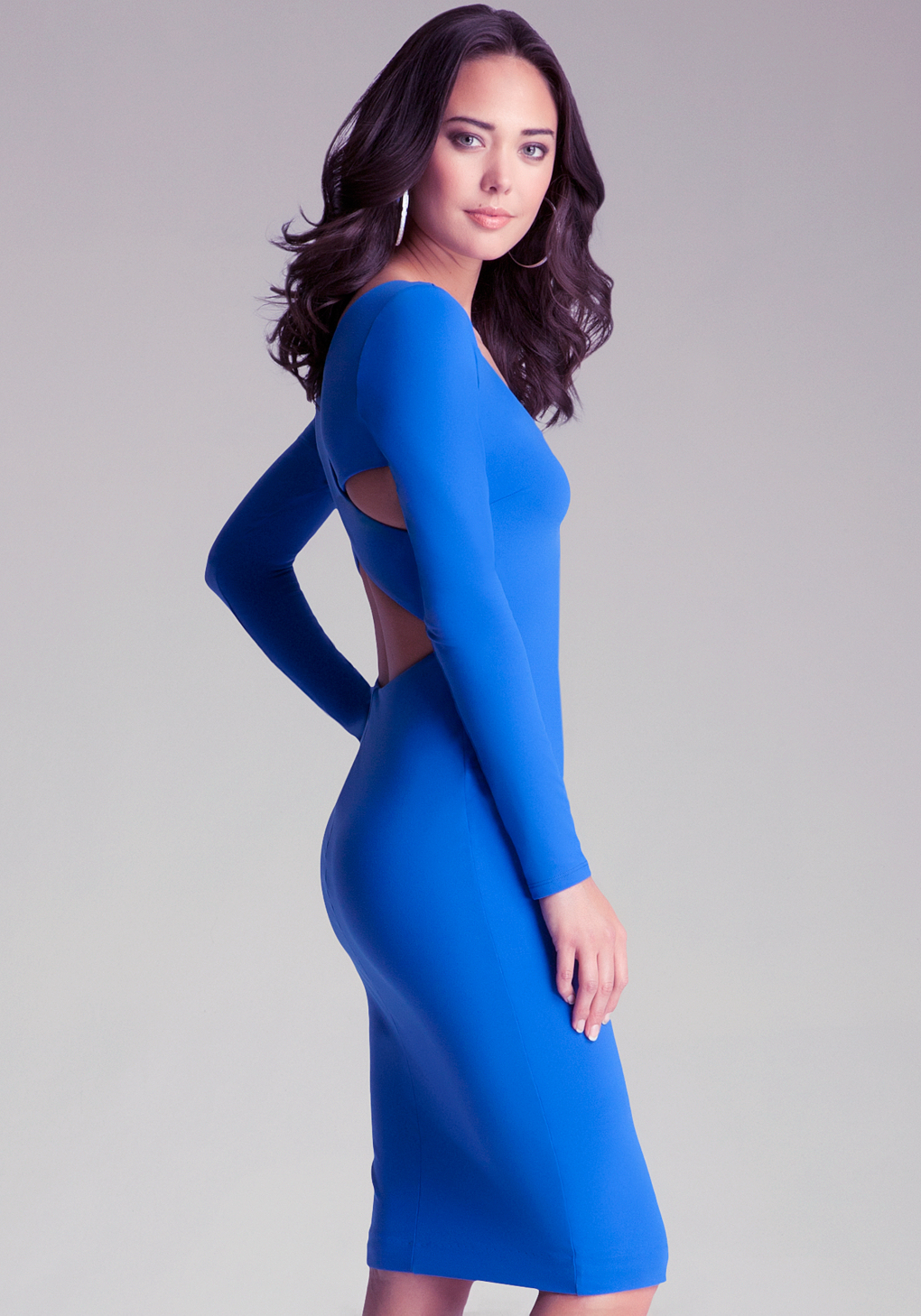 Buy Elle cap sleeves ice blue low zipper up prom dresses Online.
