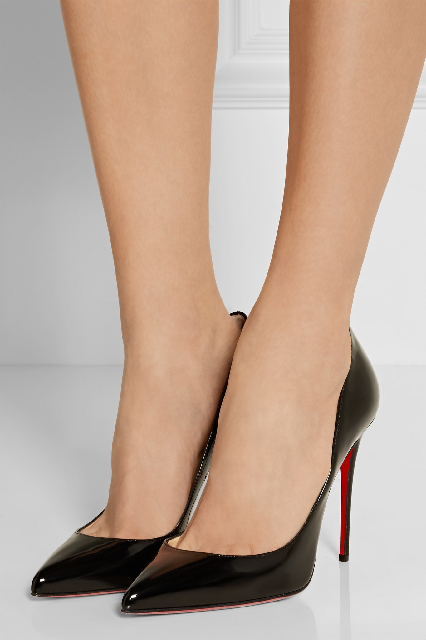 fe241b14315a Christian Louboutin Pigalle Follies 100 Patent-leather Pumps in ...