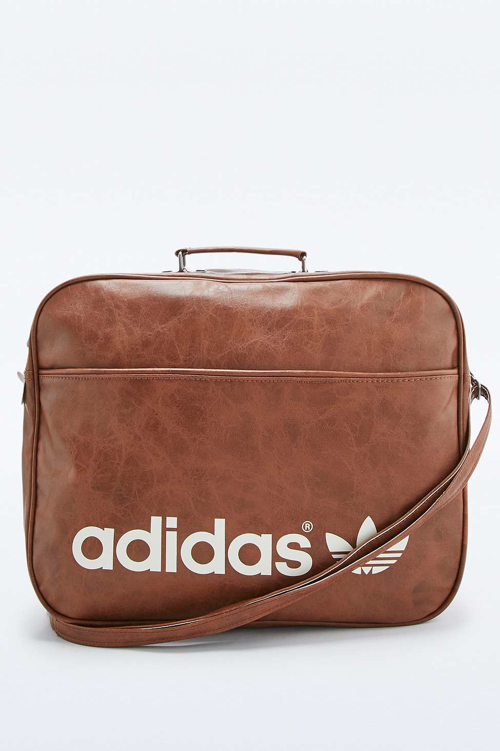 ... sale uk 80b42 84ec7 Adidas Originals Brown Vintage Airline Bag in Brown  for Men e90278c148
