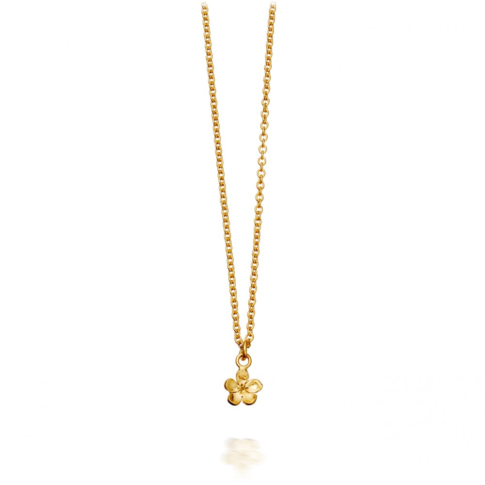 Lyst alex monroe forget me not pendant in metallic gallery aloadofball Image collections