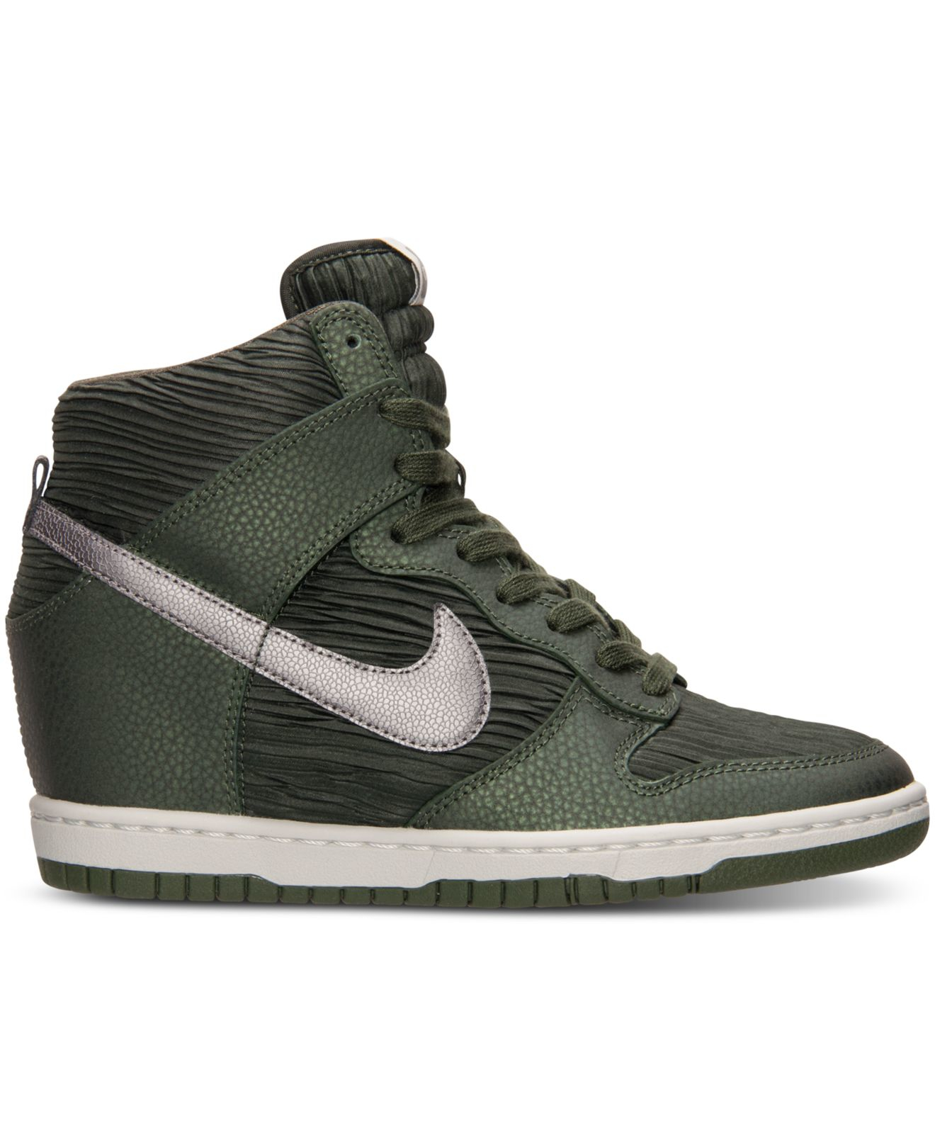 separation shoes 58103 ac252 Gallery. Previously sold at Macys · Womens Nike Dunk Sky Hi ...