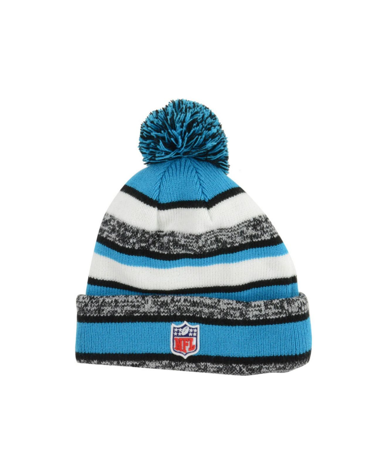 Lyst - KTZ Carolina Panthers Sport Knit Hat in Blue for Men 775c928c40b