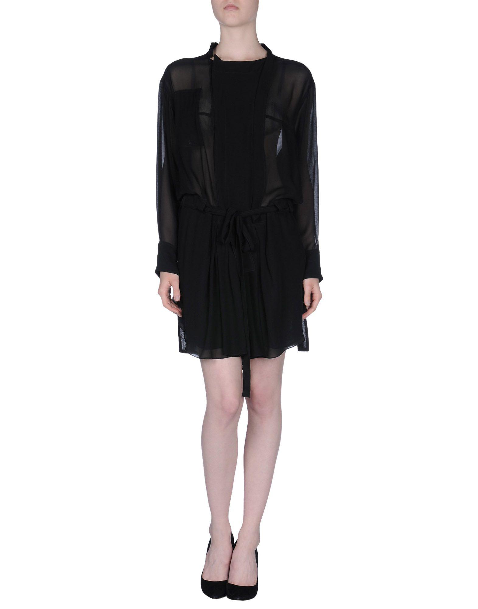 isabel marant short dress in black lyst