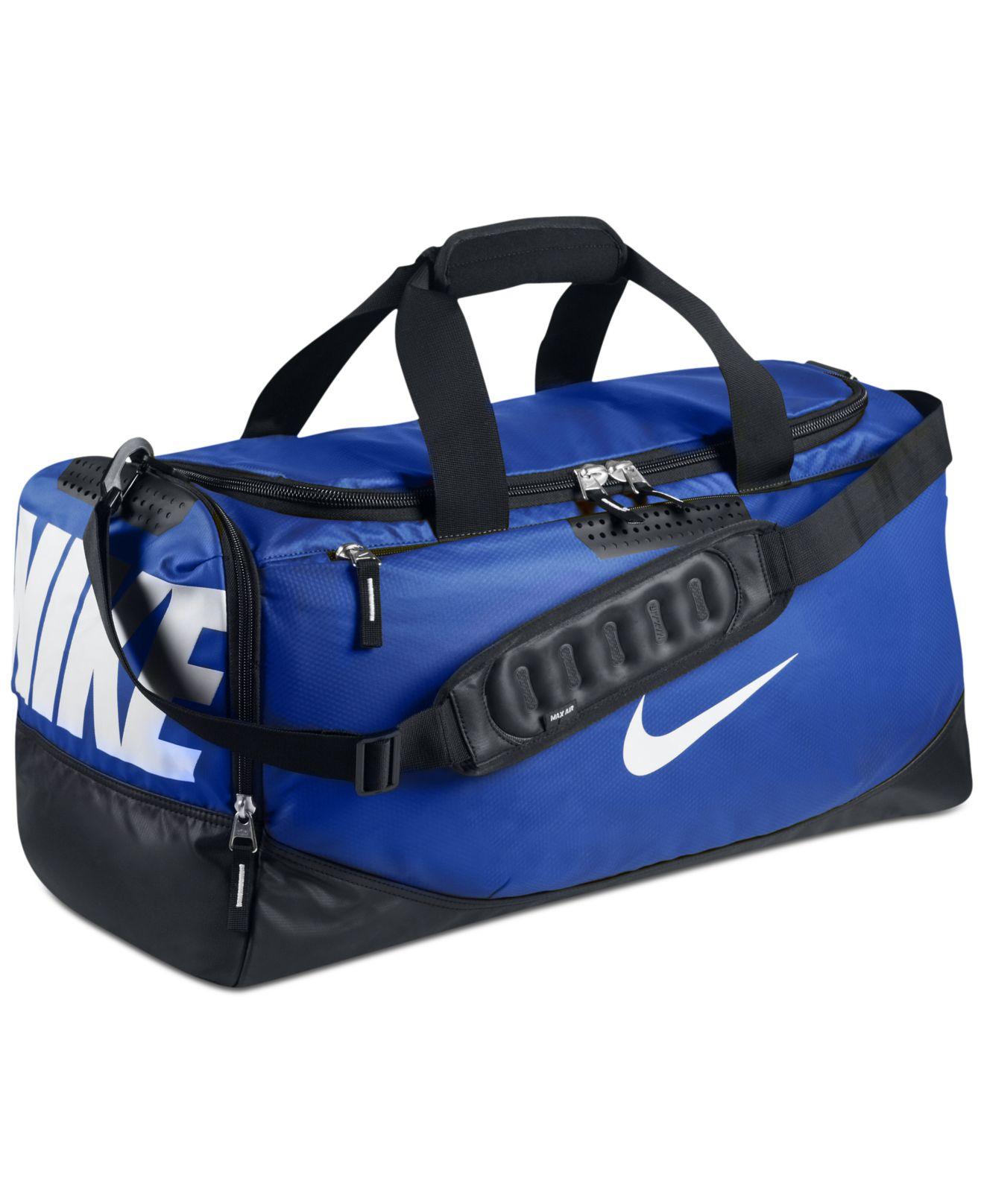 651ba8c759 Lyst - Nike Water Resistant Team Training Medium Duffle Bag in Blue ...