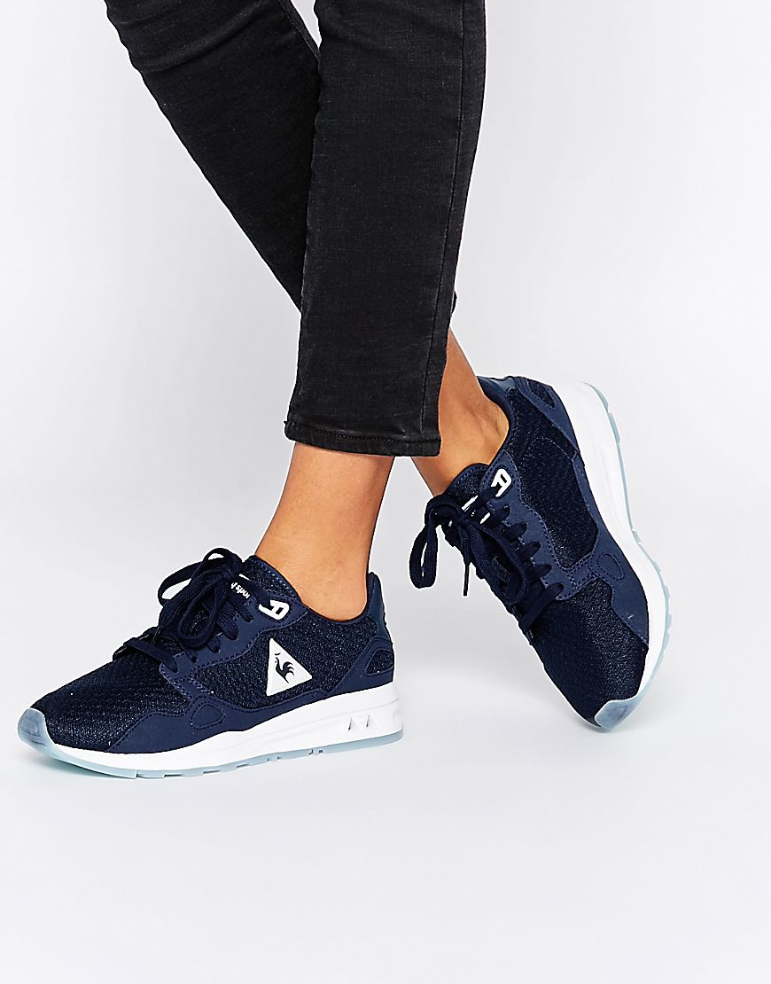 98f487543577 Lyst - Le Coq Sportif Lcs R900 Navy Trainers in Blue