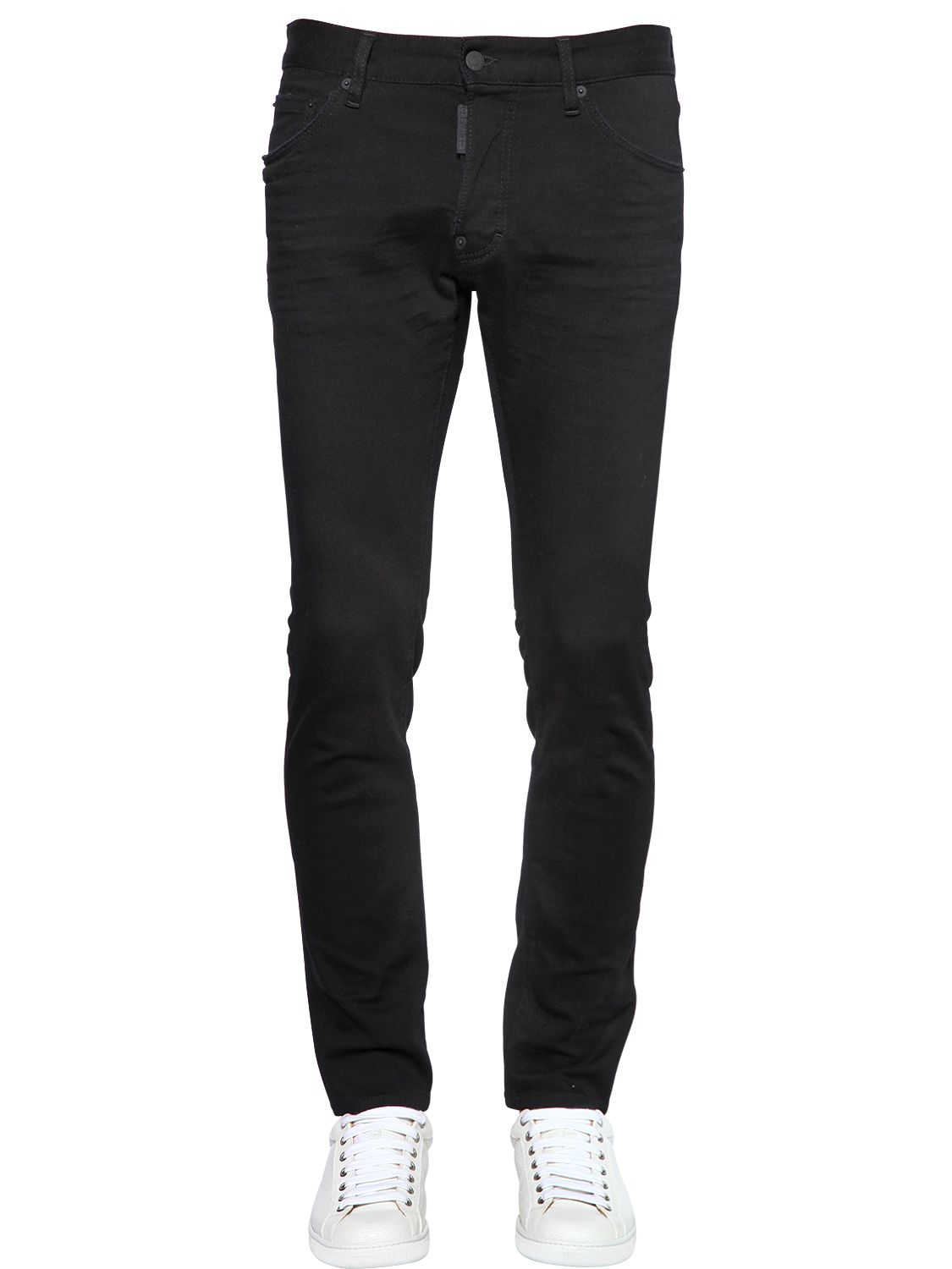 Dsquared² 16.5cm Cool Guy Stretch Denim Jeans in Black for ...