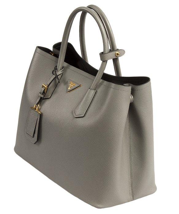 prada clutch - prada grey leather bag