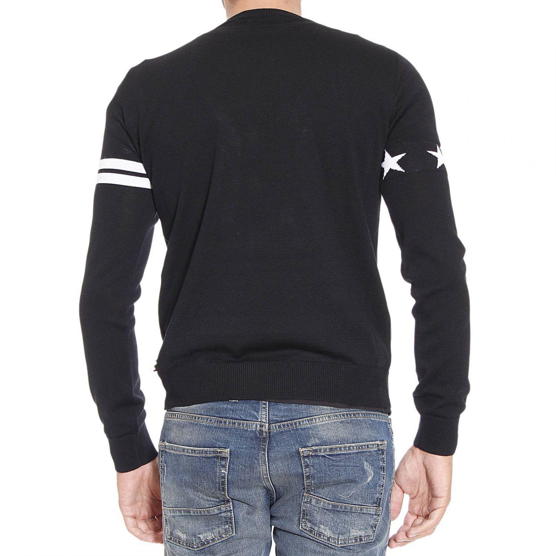 philipp plein black sweater for men lyst. Black Bedroom Furniture Sets. Home Design Ideas