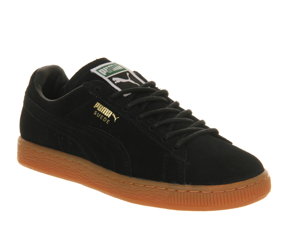 Details about puma womens suede classic rg black running shoes - Gallery