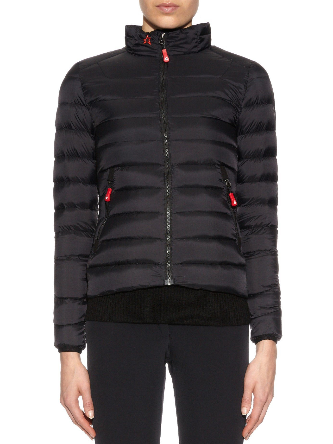 Lyst Perfect Moment Mini Duvet Quilted Down Jacket In Black
