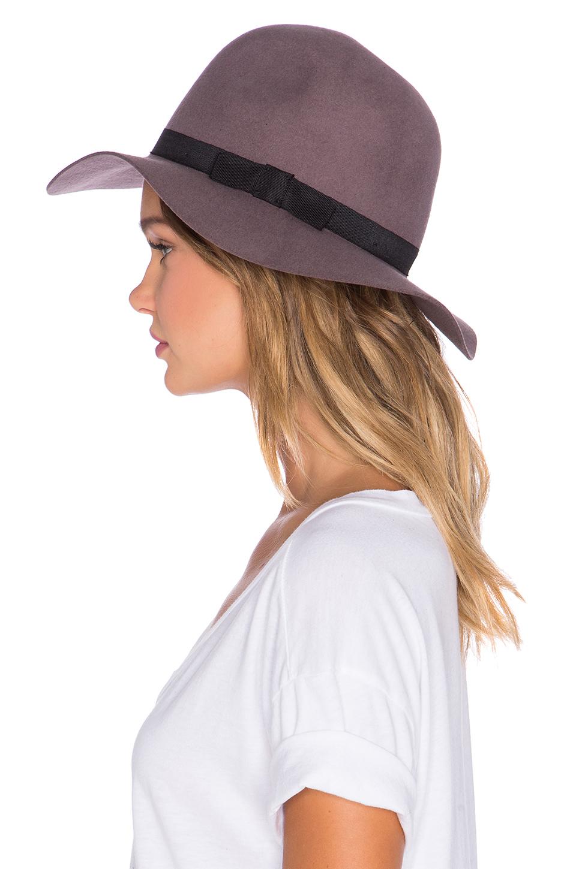 Lyst - Brixton Dalila Hat in Purple 5adc20746e5