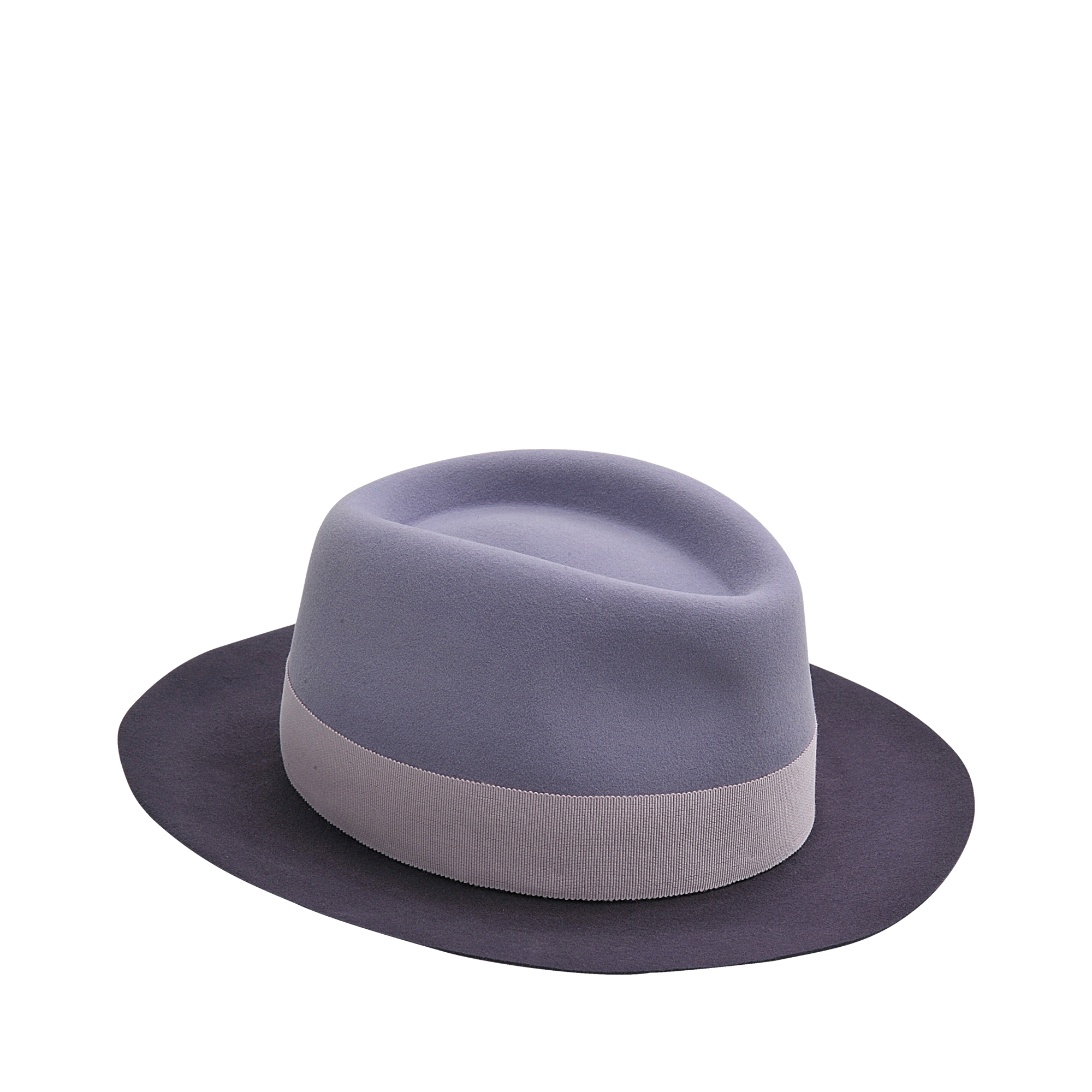 Maison michel hat andr in felt in purple lyst for Maison michel
