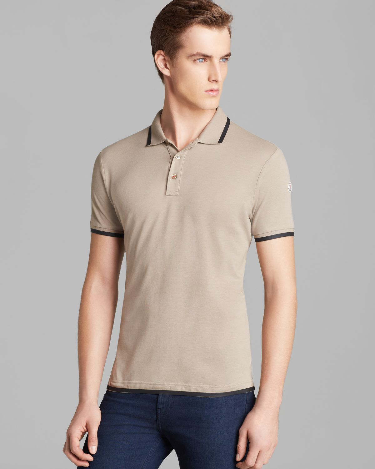 Moncler Polos beige