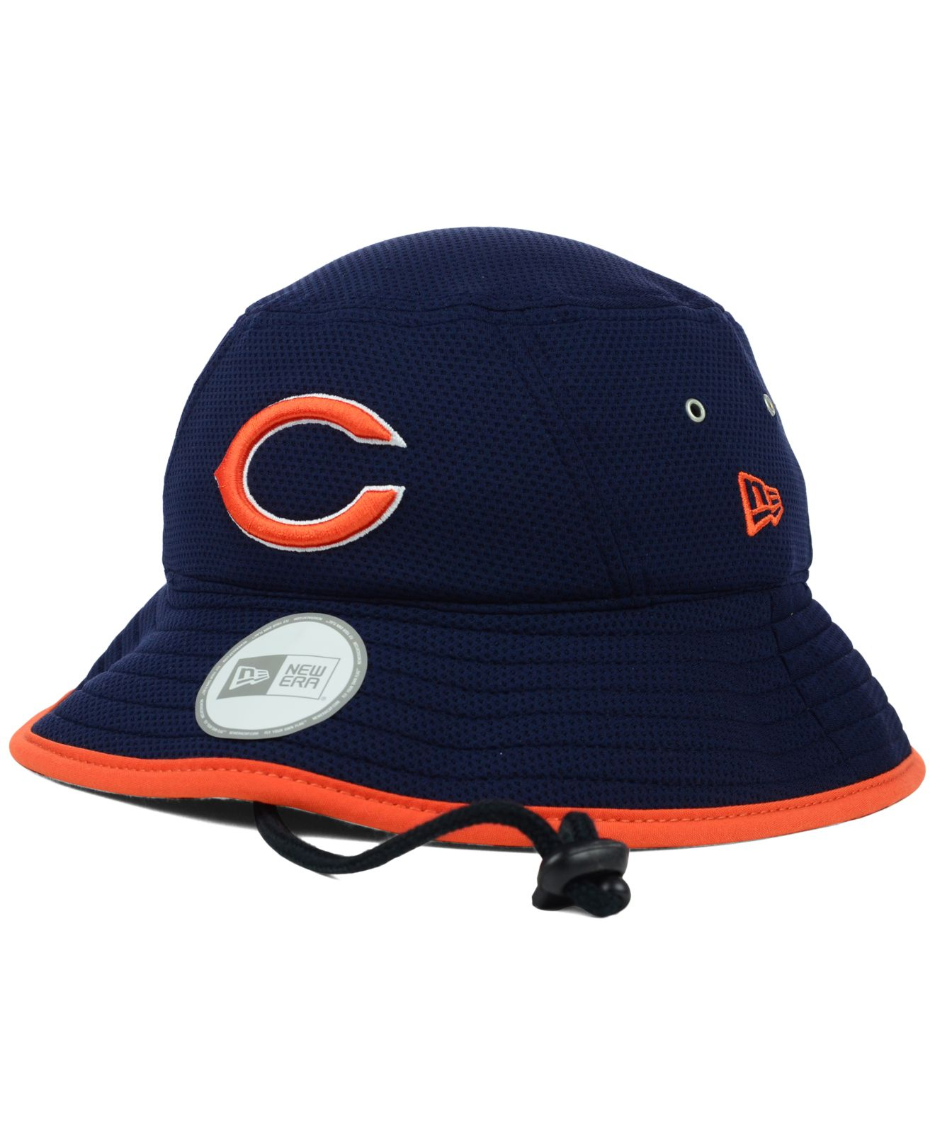 104a31890a8 Lyst - KTZ Chicago Bears Tc Training Bucket Hat in Blue for Men