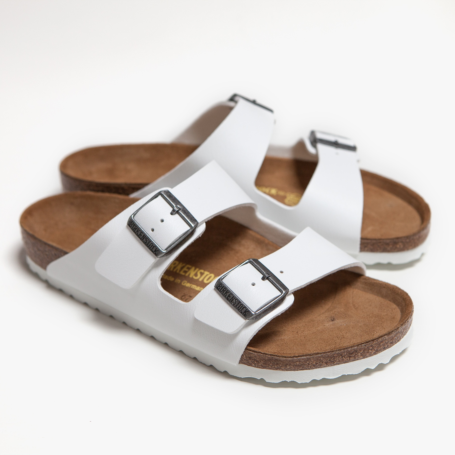 46b1dae961 Lyst - James Perse Birkenstock Arizona Sandal - Womens in White