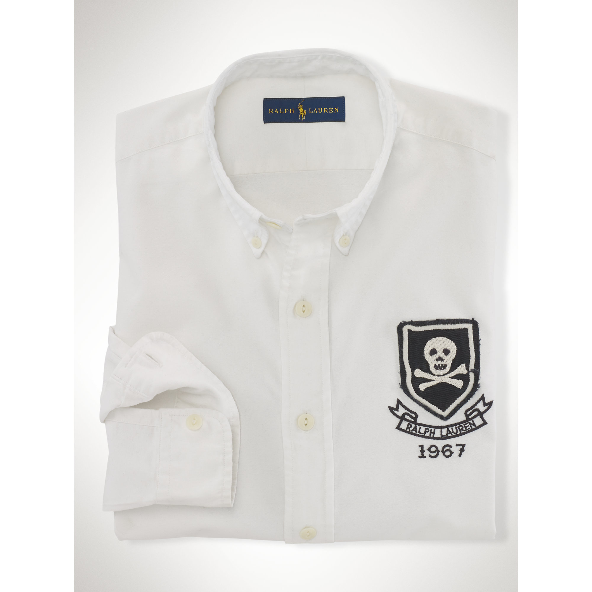 Lyst Polo Ralph Lauren Rugby Cotton Oxford Shirt In