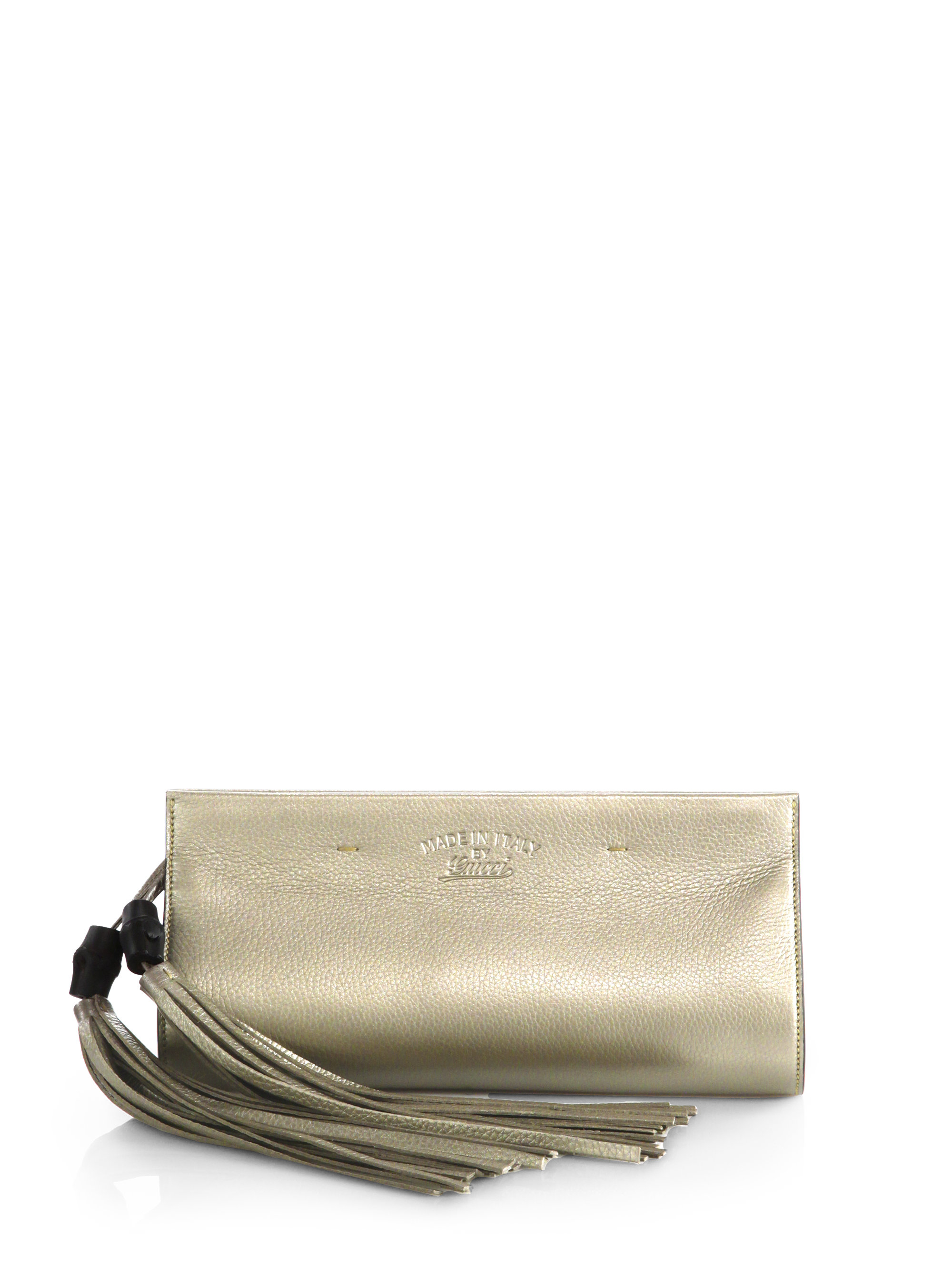 10b2889ac19 Gallery. Previously sold at  Saks Fifth Avenue · Women s Metallic Clutch  Bags
