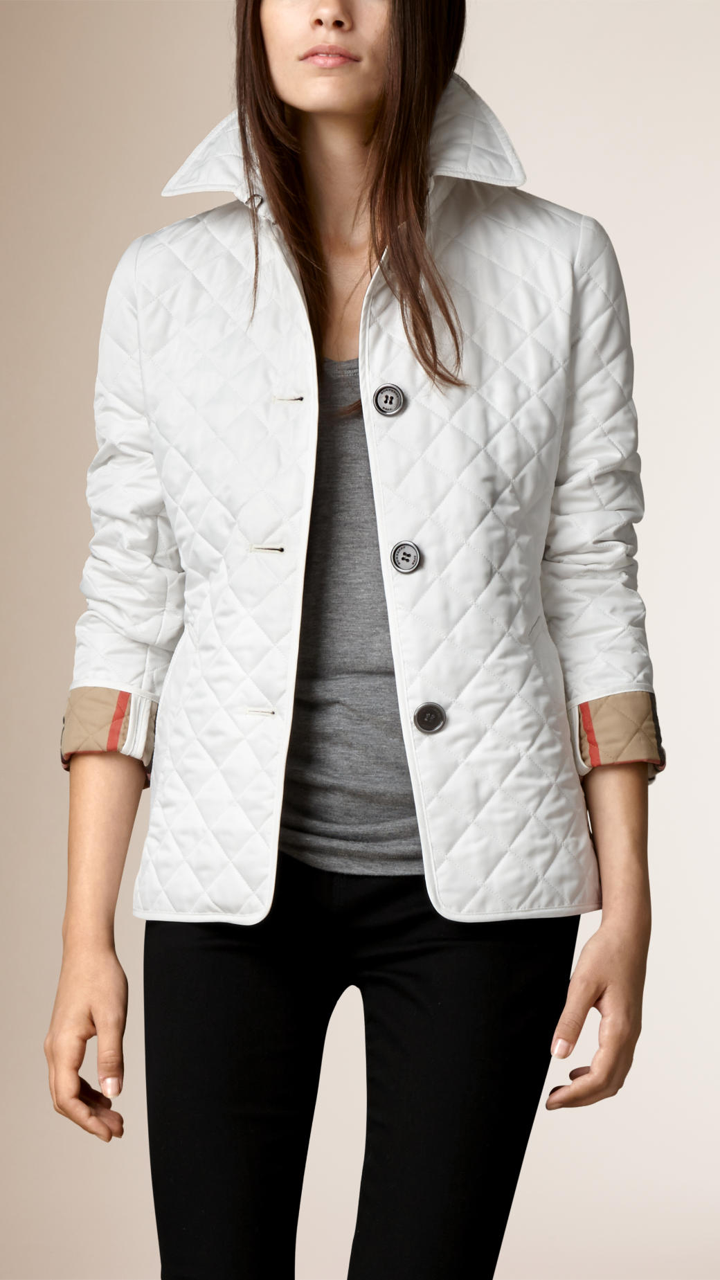 shop brit burberry quilted quilt ashurst jacket
