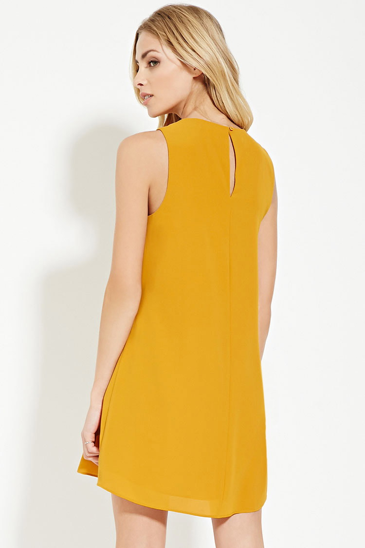 Yellow dress forever 21