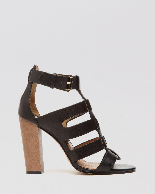 9419ce5b69c5 Lyst - Dolce Vita Open Toe Gladiator Sandals - Niro High Heel in Black