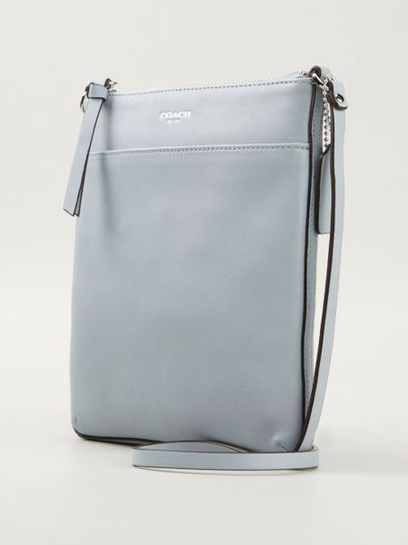 Coach Crossbody Messenger Bag in Blue