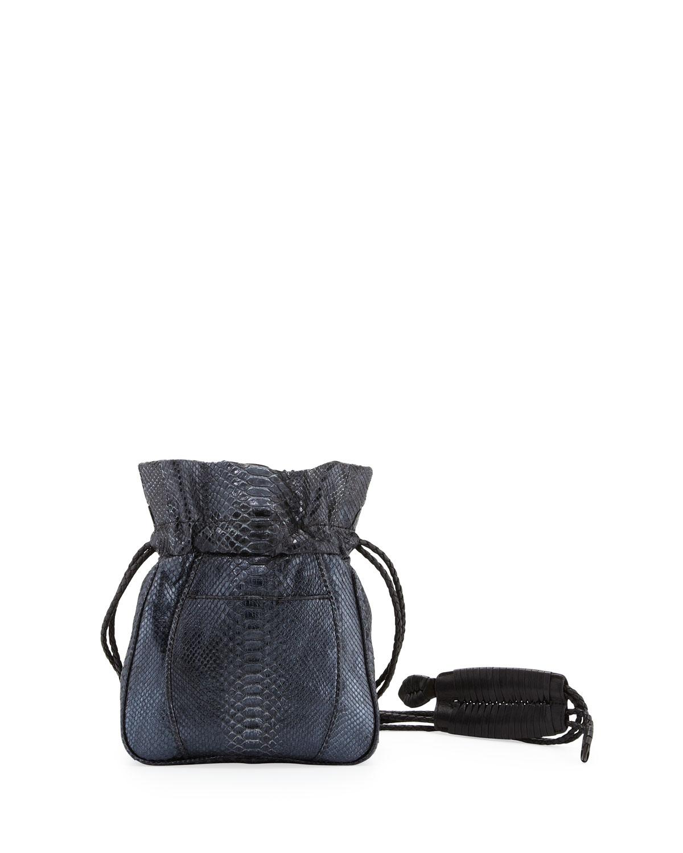 prada python pouch bag