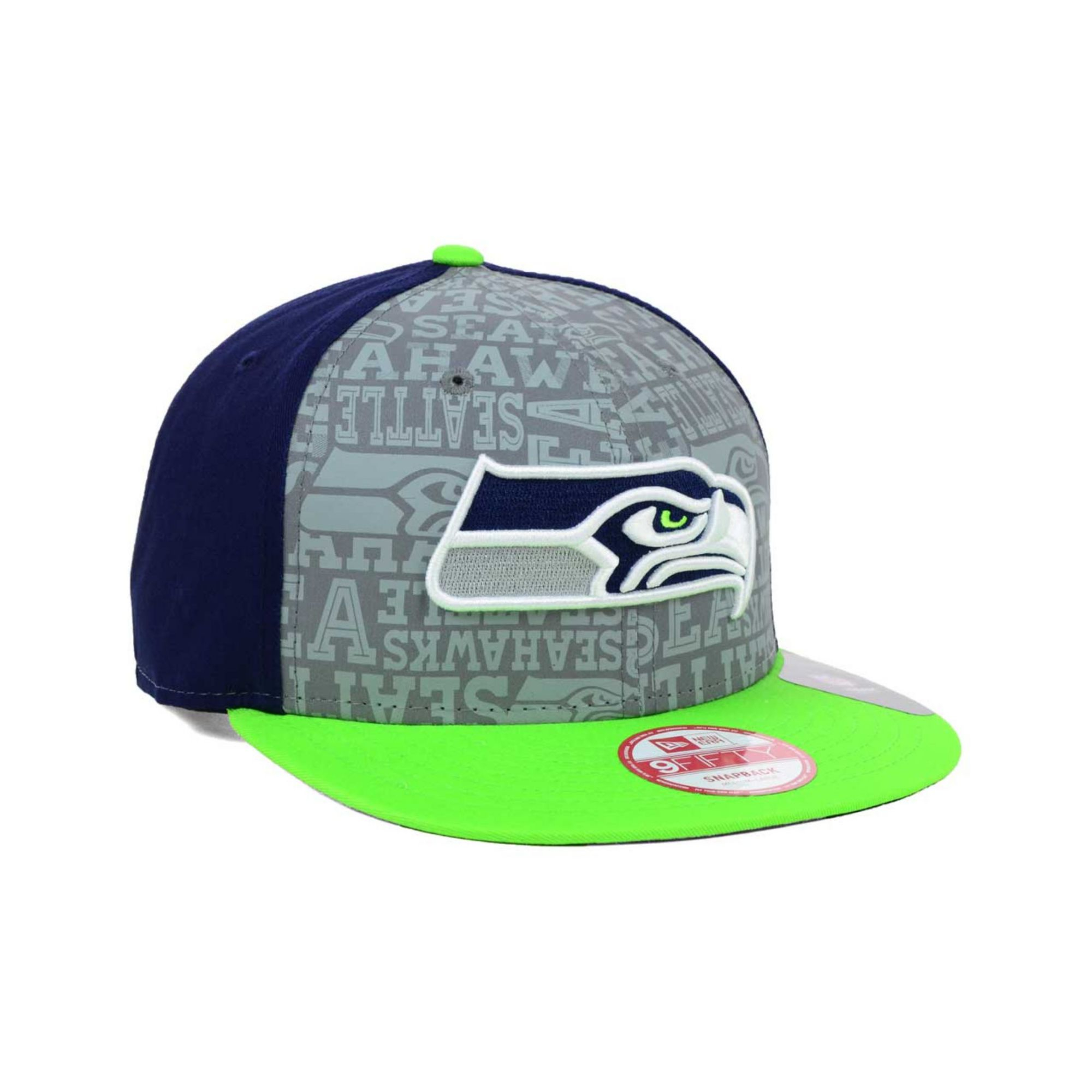 reduced lyst ktz seattle seahawks nfl draft 9fifty snapback cap in green  20961 b83d0 ac6f9013ce1b