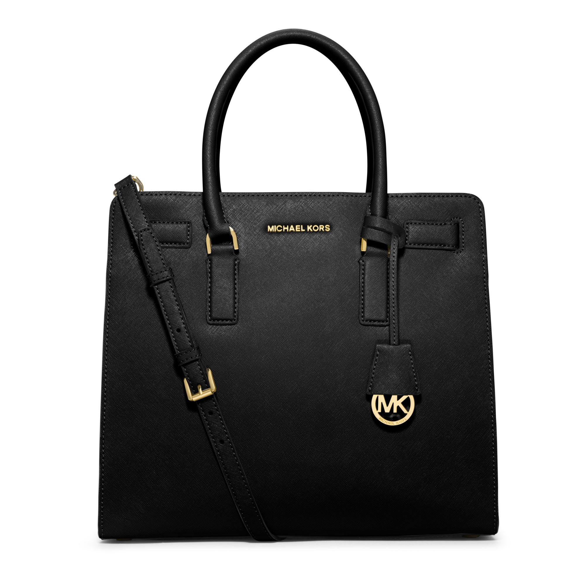 Lyst Michael Kors Dillon Large Saffiano Leather Tote In