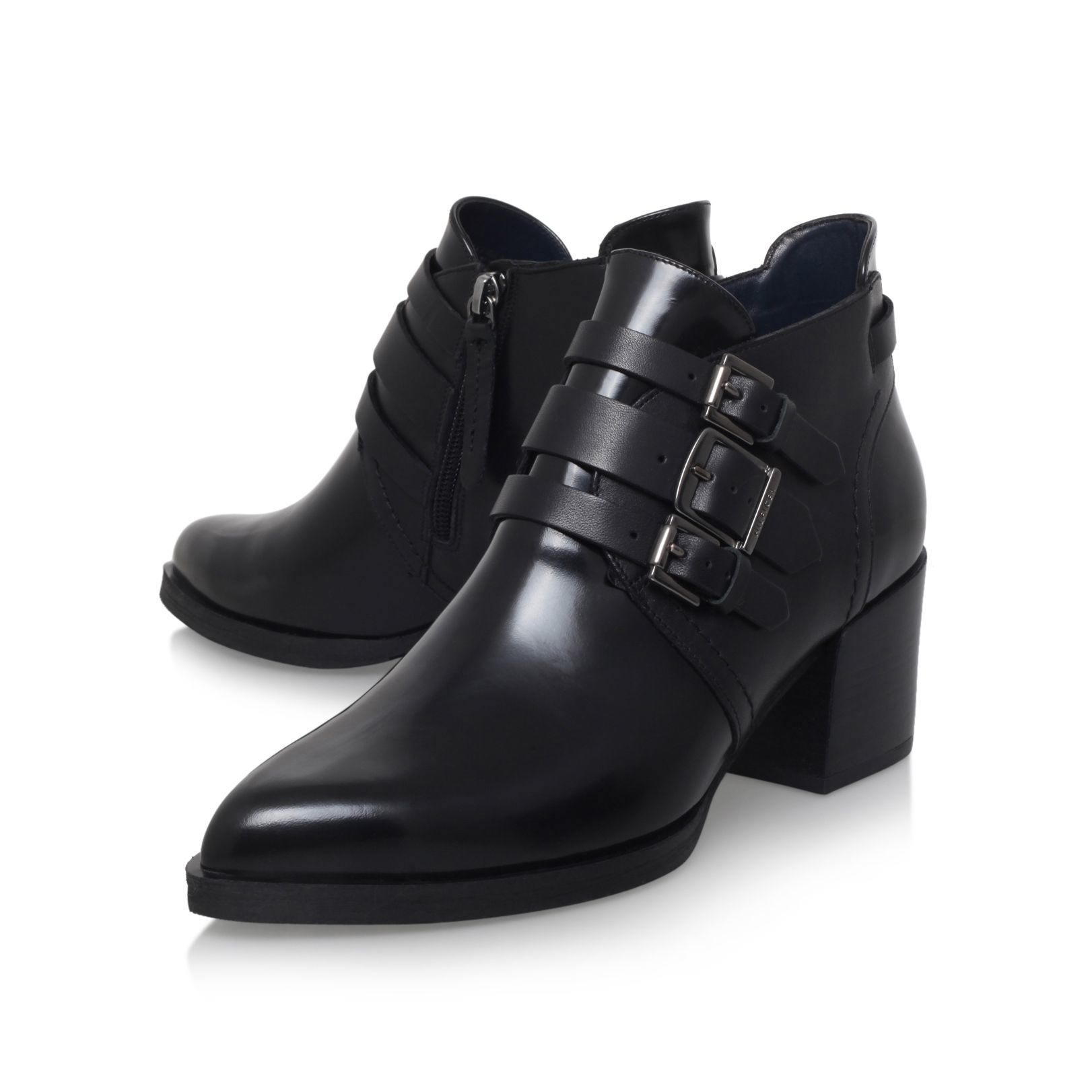 tommy hilfiger poppi 1a ankle boots in black lyst. Black Bedroom Furniture Sets. Home Design Ideas