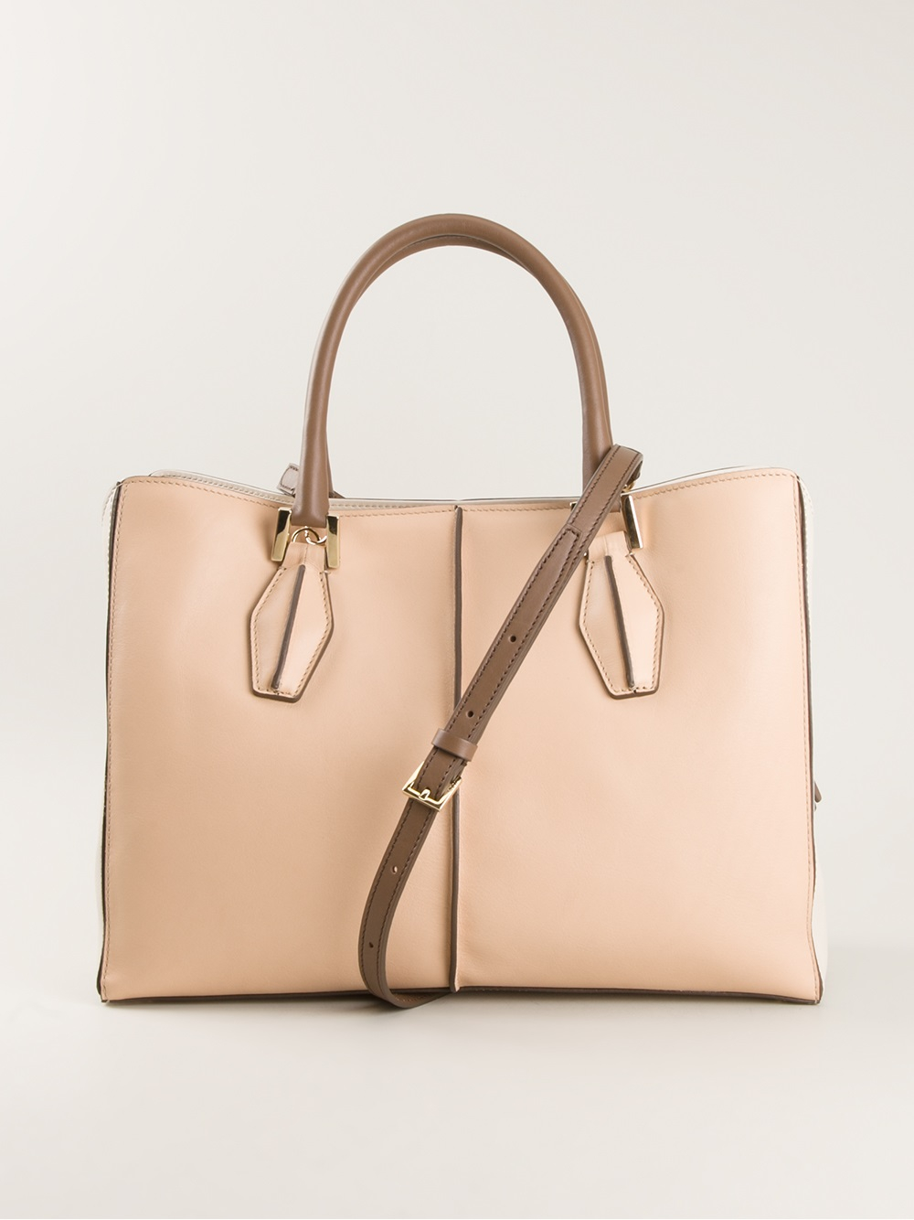 cbfbff353f2f7 Tod's D Styling Tote in Natural - Lyst