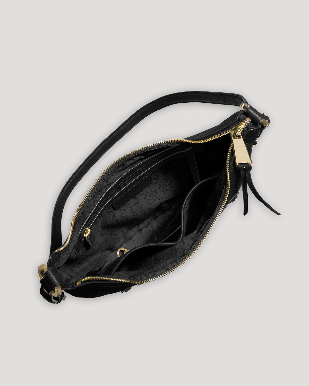 Michael michael kors 'medium Rhea Zip' Leather Backpack in ...
