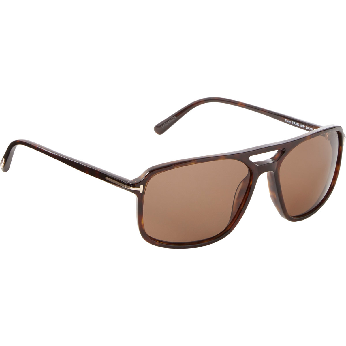 tom ford terry sunglasses in brown for men lyst. Cars Review. Best American Auto & Cars Review