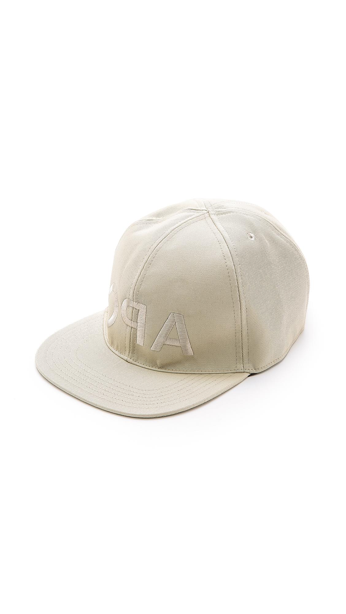 Lyst - A.P.C. Backwards Cap in Natural for Men 5cf856fb7a95