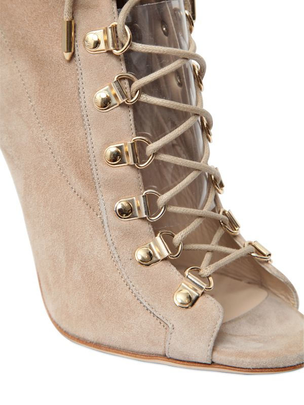 Ava Suede Western Booties itHctrc