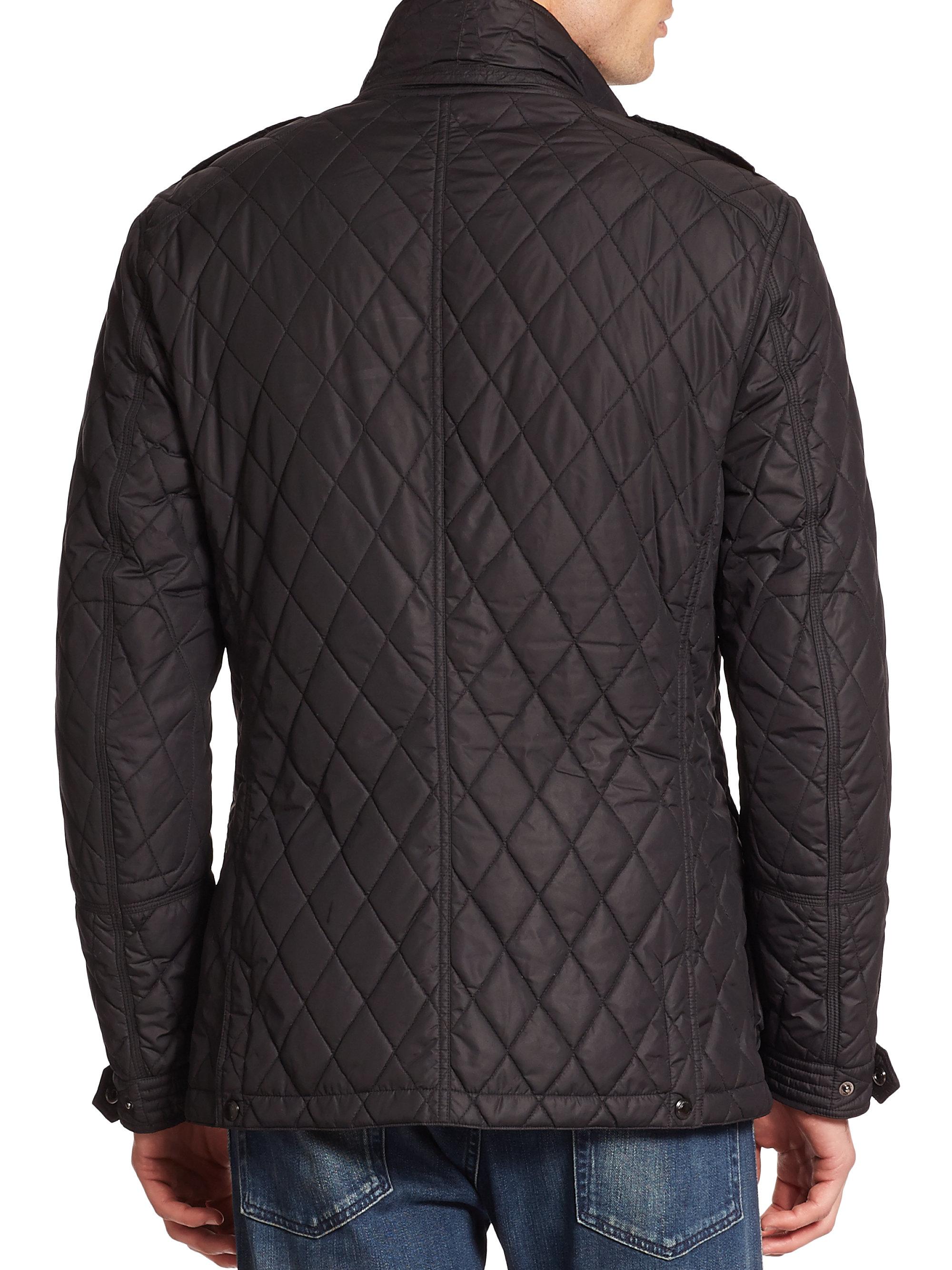 Lyst Ralph Lauren Black Label Quilted Sport Jacket In