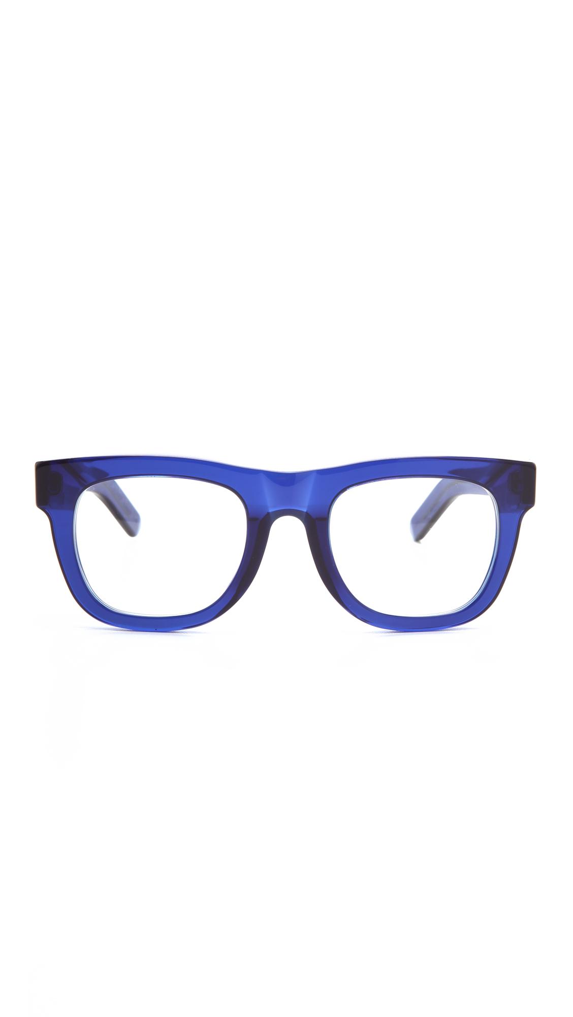 f9132b08d661 Lyst - Retrosuperfuture Ciccio Glasses - Blue in Blue