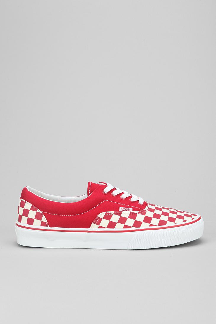 Lyst Urban Outfitters Vans Era Checkerboard Mens Sneaker