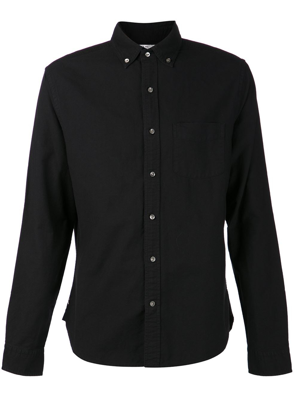 Alex mill Oxford Shirt in Black for Men | Lyst