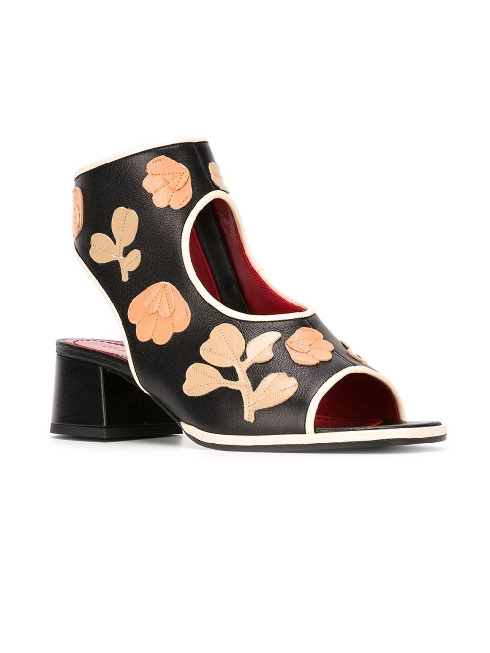 Marni floral applique sandals cheap shipping discount sale cheap sale popular deals brand new unisex sale online cw6j0Blp