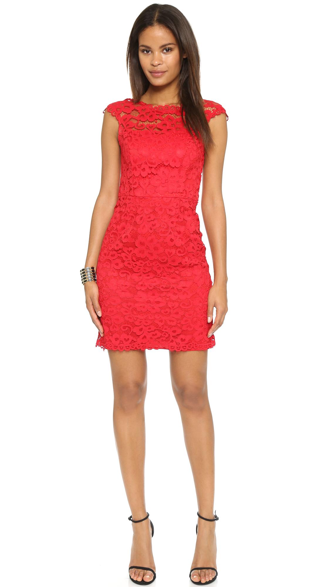 Shoshanna Olivia Dress - Merlot in Red  Lyst